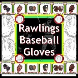 rawlings youth baseball gloves image
